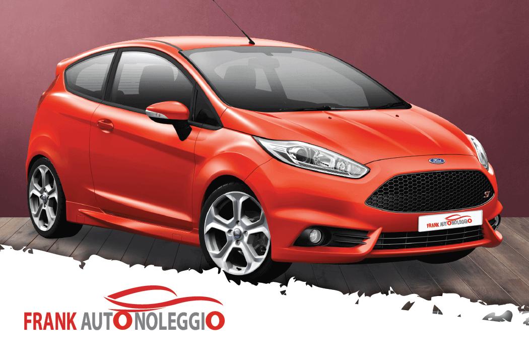 Ford Fiesta rental in promotion in Naples