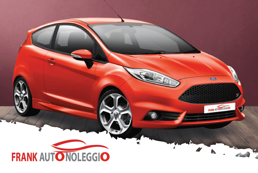 Ford Fiesta rental in promotion in Catania